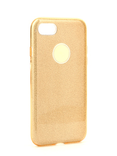 Аксессуар Чехол Neypo Brilliant Silicone для APPLE iPhone 7 Gold Crystals NBRL2668