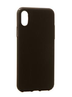 Аксессуар Чехол Neypo Soft Touch для APPLE iPhone X Black ST3155