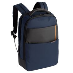 Рюкзак Samsonite 14.1 Qibyte Laptop Backpack Blue-Black 16N-01004