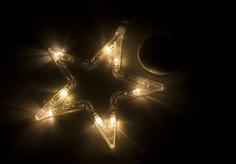 Новогодний сувенир Neon-Night Звездочка на присоске LED Warm White 501-011