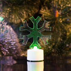 Новогодний сувенир Neon-Night Снежинка 2D 10cm LED RGB 501-055