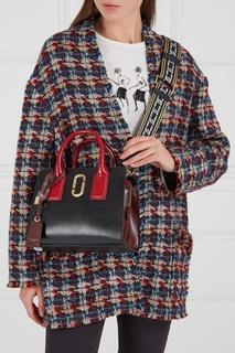 Черная кожаная сумка Little Big Shot Marc Jacobs
