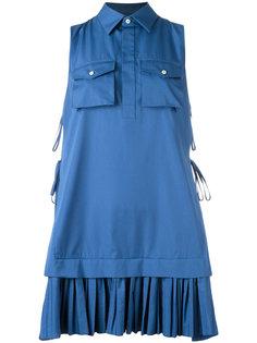 мини-платье с плиссировкой Dsquared2
