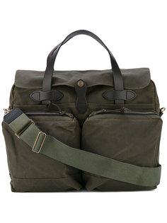 сумка для ноутбука с накладными карманами Filson