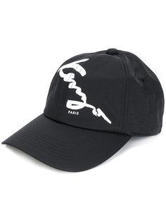 бейсбольная кепка с принтом логотипа Kenzo