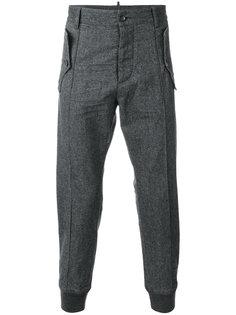 фланелевые спортивные брюки  Dsquared2