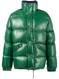 лакированная куртка-пуховик Moncler