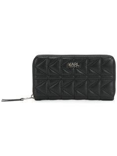 кошелек на молнии K/Kuilted Karl Lagerfeld