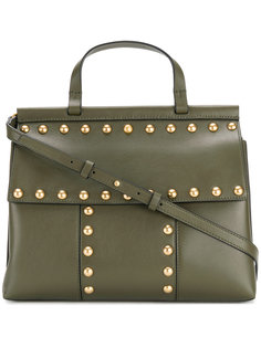 studded T satchel Tory Burch