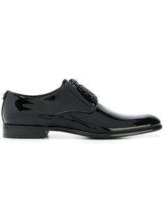 лакированные кожаные ботинки Дерби  Dolce & Gabbana