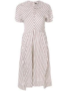 полосатое платье миди Isabel Marant