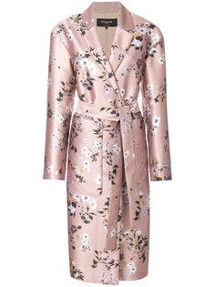 пальто-кимоно с поясом Rochas