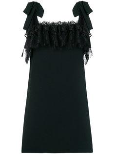 мини-платье с кружевной отделкой Philosophy Di Lorenzo Serafini