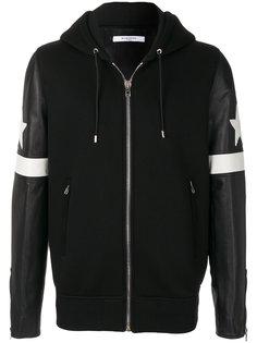 куртка-бомбер с капюшоном и контрастными деталями Givenchy
