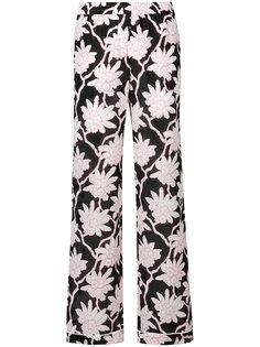 широкие брюки Popflowers  Valentino