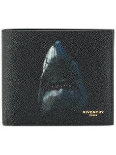 бумажник с принтом акулы Givenchy