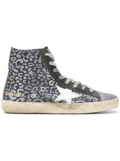 кроссовки Francy Leopard Golden Goose Deluxe Brand