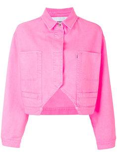 cropped denim jacket MSGM