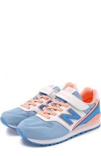 Комбинированные кроссовки 996 на шнуровке New Balance