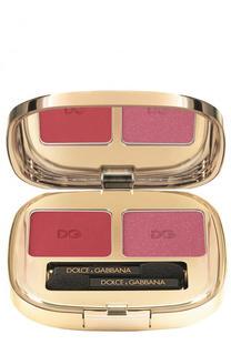 Тени для век Duo, оттенок 135 Tropical Coral Dolce & Gabbana