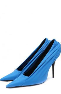 Текстильные туфли Knife на шпильке Balenciaga