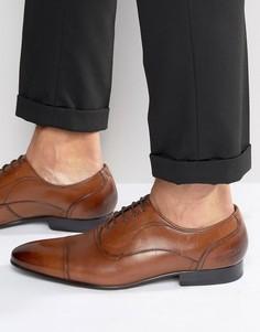 Темно-бордовые оксфордские туфли Ted Baker Umbber - Коричневый