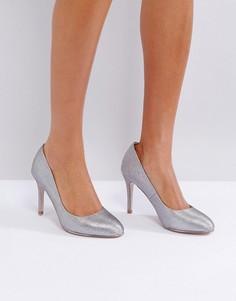 Туфли на высоком каблуке с круглым носком Miss KG - Серый