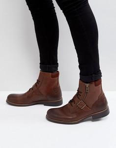 Коричневые ботинки на шнурках ALDO Walden - Коричневый