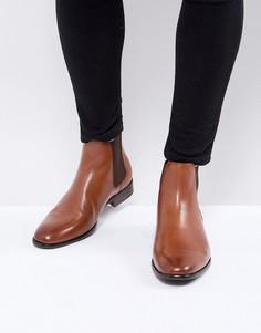 Светло-коричневые кожаные ботинки челси ALDO - Рыжий