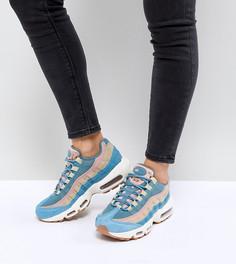 Синие кроссовки Nike Air Max 95 Lx - Синий