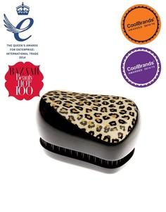 Компактный стайлер - профессиональная щетка для волос Tangle Teezer - Черный