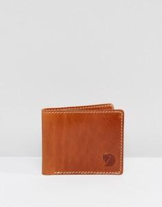 Кожаный бумажник Fjallraven Ovik - Рыжий