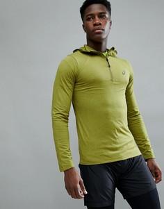 Зеленый худи Asics Running 144015-4035 - Зеленый