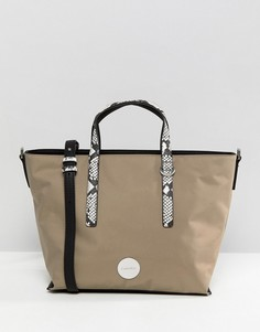 Небольшая сумка-тоут Calvin Klein - Серый