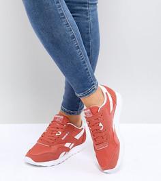 Оранжевые нейлоновые кроссовки Reebok Classic - Оранжевый