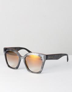 Серые солнцезащитные очки кошачий глаз Marc Jacobs 1862/S - Серый