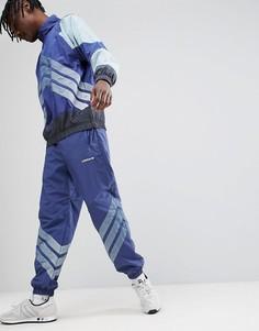 Синие суженные книзу джоггеры adidas Originals Nova CE4814 - Синий