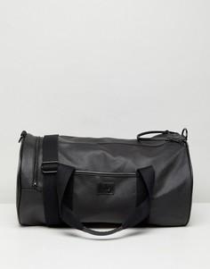 Черная сумка из сафьяна Fred Perry - Черный