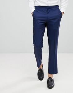 Суперузкие брюки под смокинг Burton Menswear - Синий