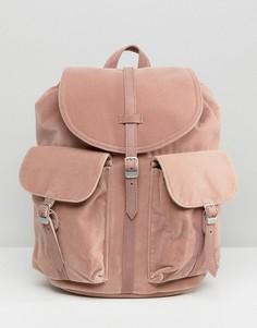 Розовый бархатный рюкзак Herschel Dawson - Розовый