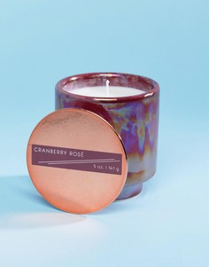 Маленькая свеча с ароматом розы и клюквы Paddywax - Мульти