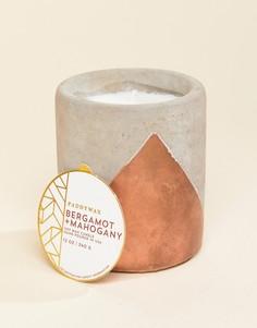 Свеча с ароматом бергамота и красного дерева Paddywax - Мульти