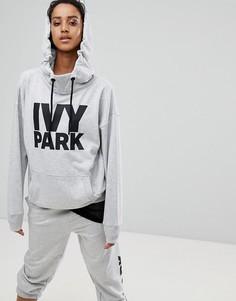 Серый худи с логотипом Ivy Park - Серый