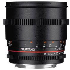 Объектив для зеркального фотоаппарата Canon Samyang