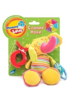 Развивающая игрушка Mommy Love «Слоник Ноки»
