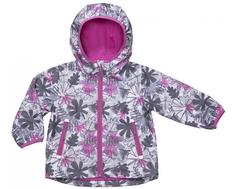 Куртка для девочки Barkito, серая с рисунком