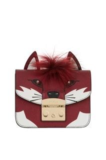 Кожаная сумка Metropolis Jungle Furla