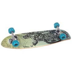 Скейт мини круизер Footwork Complete Easy Cruiser Skull 7.75 x 27.25 (69.2 см)