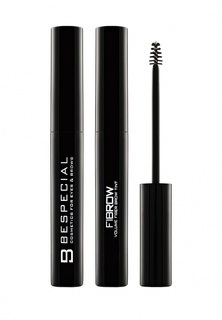 Гель для бровей Bespecial с фибрами Fibrow (natural brown), 5 мл