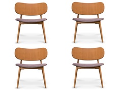 "Комплект из 4 стульев ""Xavier Lounge"" My Furnish"